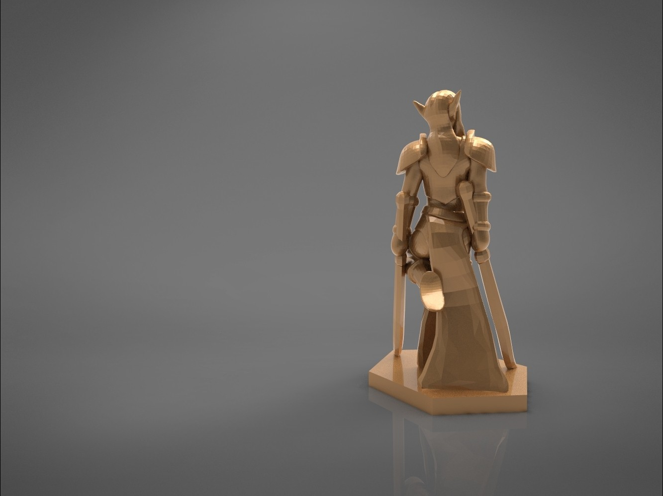 Warrior_2-main_render_2.327.jpg Download STL file ELF WARRIOR FEMALE CHARACTER GAME FIGURE 3D print model • 3D printing object, 3D-mon