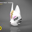 catalyst mask _ keyshot-isometric_parts.417.png Download STL file Fortnite Catalyst Mask • 3D print model, 3D-mon