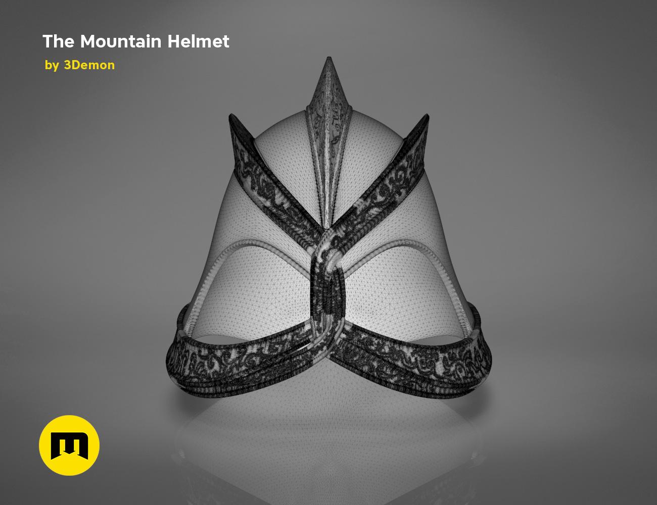 GoT-mountain-helmet-mesh.637.jpg Download STL file The Mountain Helmet – Game of Thrones • 3D printing model, 3D-mon