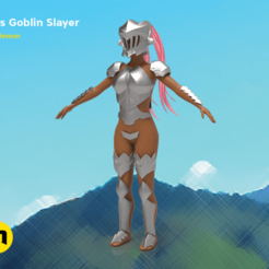 MISS-GOBLIN-PNG-main - kopie.png Download OBJ file Miss Goblin Slayer Bundle • 3D printing object, 3D-mon