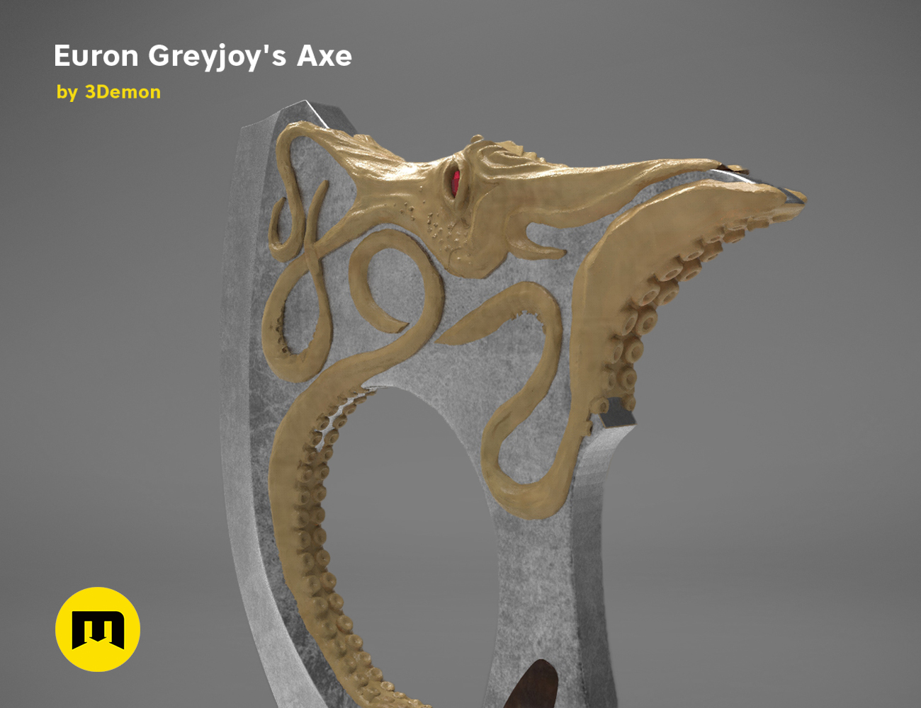 axe-gameofthrones-render.974-1.jpg Download OBJ file Euron Greyjoy's Axe • 3D printable object, 3D-mon