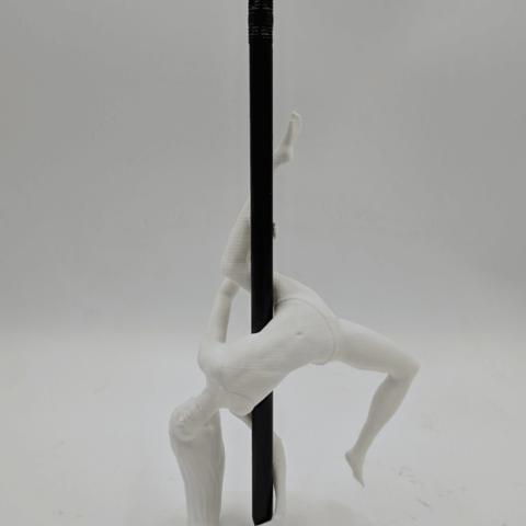 IMG_20190219_142041.png Download STL file Pole Dancer - Pen Holder • Object to 3D print, 3D-mon
