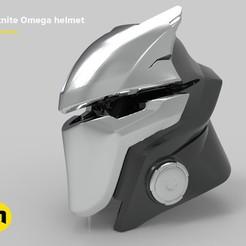 STL files Fortnite – Omega helmet, 3D-mon