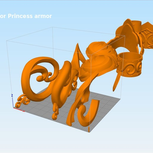 Xena-armor-parts.jpg Download STL file Xena - Warrior Princess cosplay armor • 3D print template, 3D-mon