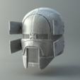 Sniper.png Download OBJ file Sniper - Knights of Ren Helmet (damaged), 3D print model • 3D printer object, 3D-mon