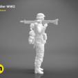 Download 3D printing files Soldier of World War 2 – FIGURE 3D MODEL, 3D-mon