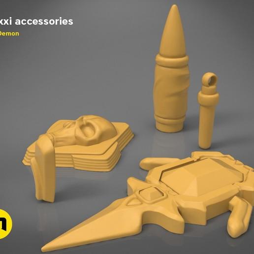 Descargar STL Accesorios Moxxi - Borderlands, 3D-mon