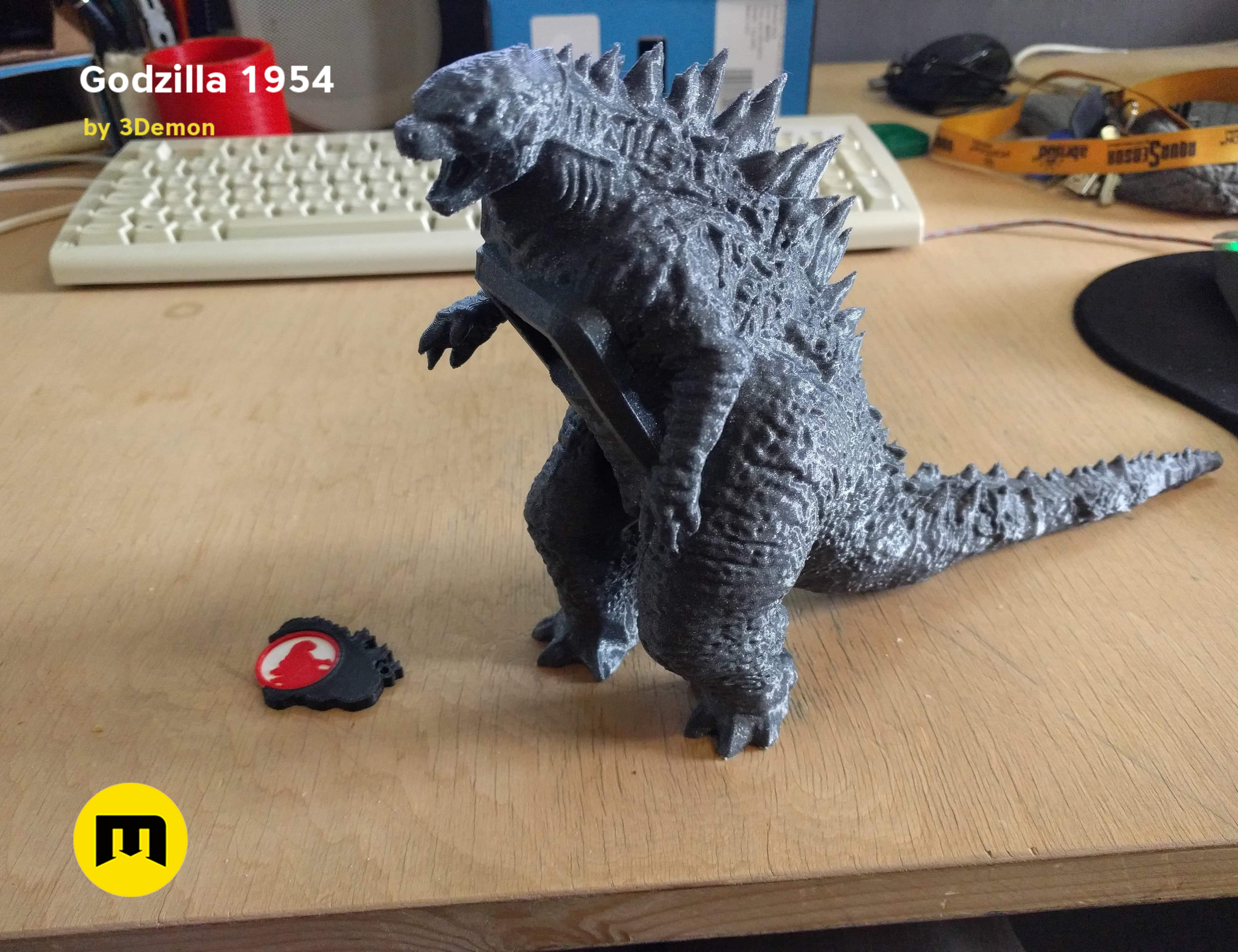 received_361314191262999.png Download free OBJ file Godzilla 1954 figure and bottle opener • 3D printer model, 3D-mon