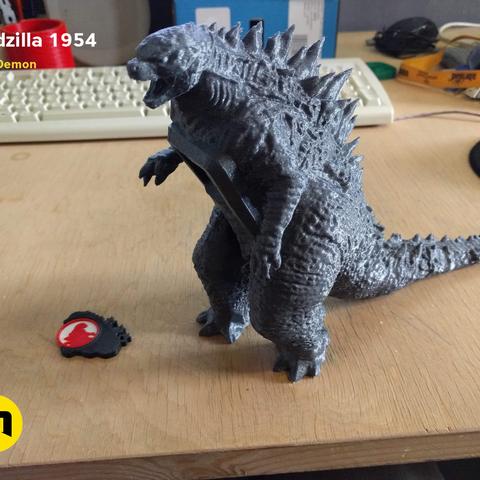 received_361314191262999.png Télécharger fichier OBJ gratuit Godzilla 1954 figurine et ouvre-bouteille • Objet imprimable en 3D, 3D-mon