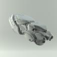 blastersbigrender1.png Download STL file Shuri Vibranium Blasters • 3D print model, 3D-mon