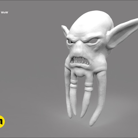 CGTrader_akama3.jpg Download STL file Mask of Akama's face from World of Warcraft • Model to 3D print, 3D-mon