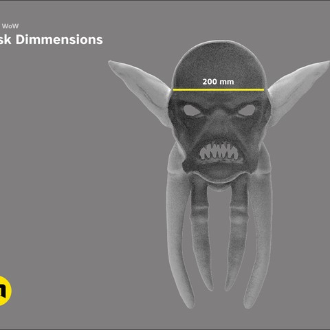 CGTrader_akama4.jpg Download STL file Mask of Akama's face from World of Warcraft • Model to 3D print, 3D-mon