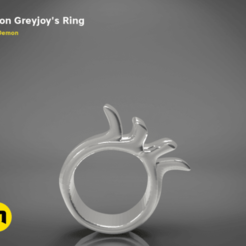 Download 3D printer designs Euron Greyjoy – Ring, 3D-mon
