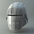 STL files Rogue - Knights of Ren Helmet, Star Wars mask, 3D print model, 3D-mon