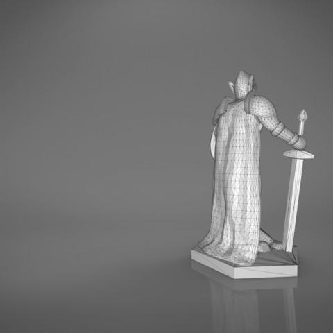 Warrior-main_render_2.379.jpg Download STL file ELF WARRIOR CHARACTER GAME FIGURE 3D print model • Object to 3D print, 3D-mon