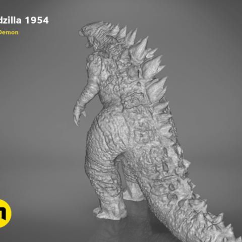 godzilla-black-japanese-bottom.206.png Download free OBJ file Godzilla 1954 figure and bottle opener • 3D printer model, 3D-mon