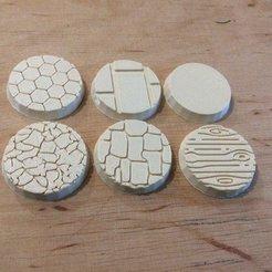 Imprimir en 3D gratis Colección Bases _Textos, 3D-mon