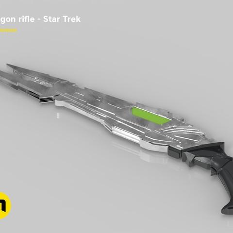 render_rifle_color.904-1.jpg Download STL file Klingon rifle • Model to 3D print, 3D-mon