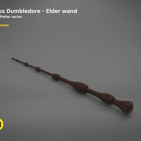 Stl file albus dumbledore elder wand harry potter films for Harry potter elder wand buy