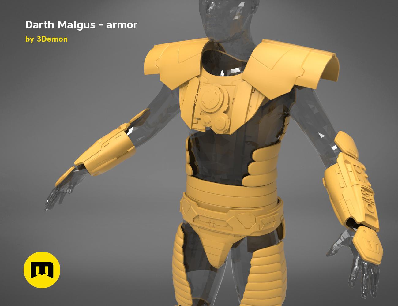 Darth-Malgus-armor-render_scene_basic.102 kopie.jpg Download STL file Darth Malgus's full size armor • Design to 3D print, 3D-mon