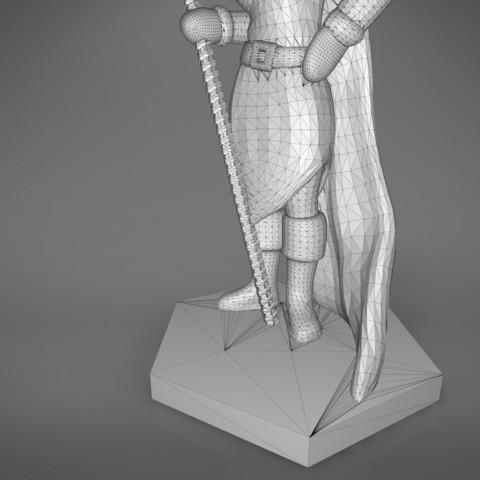 Mage_2_-detail_2.185.jpg Download STL file ELF MAGE FEMALE CHARACTER GAME FIGURES 3D print model • 3D printing template, 3D-mon