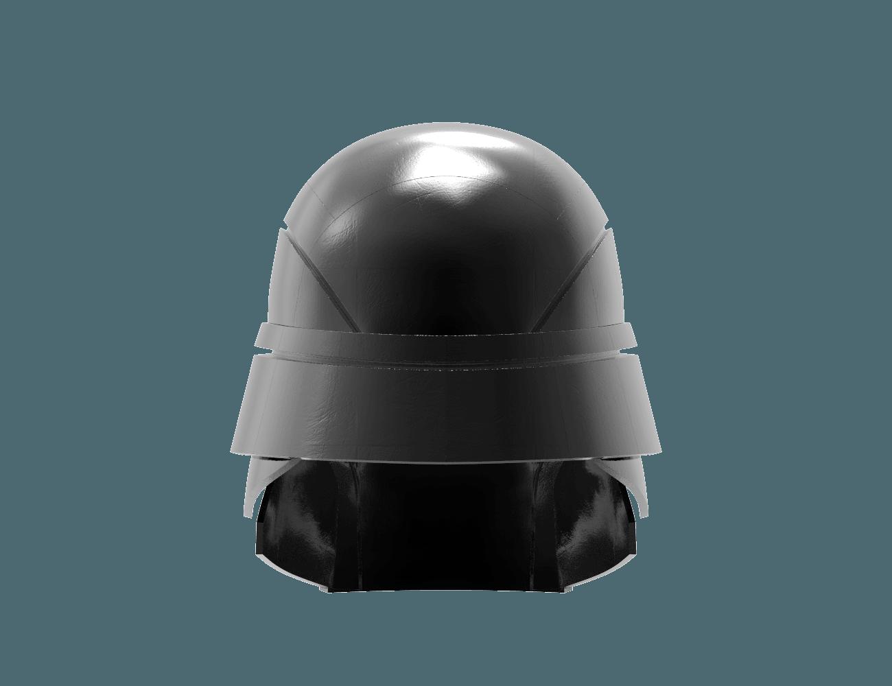 render_scene-back.27.png Download STL file Armory - Knights of Ren Helmet, StarWars model for 3D Print • 3D printing design, 3D-mon