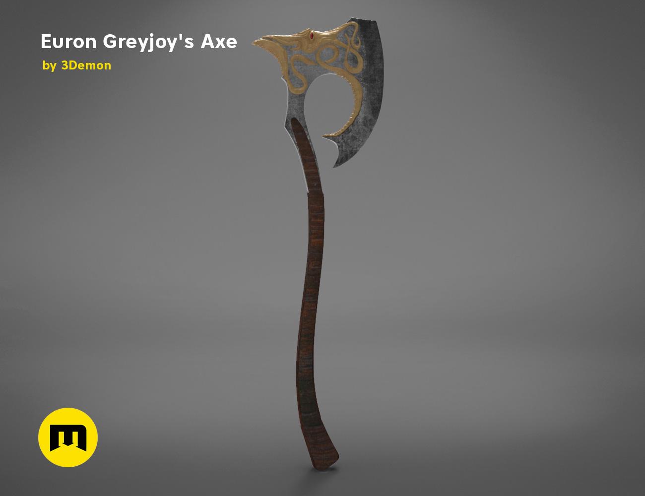 axe-gameofthrones-render.973.jpg Download OBJ file Euron Greyjoy's Axe • 3D printable object, 3D-mon