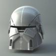 render009.png Download STL file Armory - Knights of Ren Helmet, StarWars model for 3D Print • 3D printing design, 3D-mon