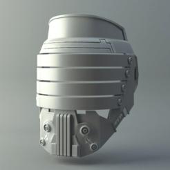 Descargar STL Máscara Darth Vindican - Universo Star Wars, 3D-mon