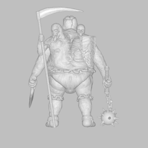 mesh_scene.3.png Download STL file Pirfes figure - 3D print model • Design to 3D print, 3D-mon