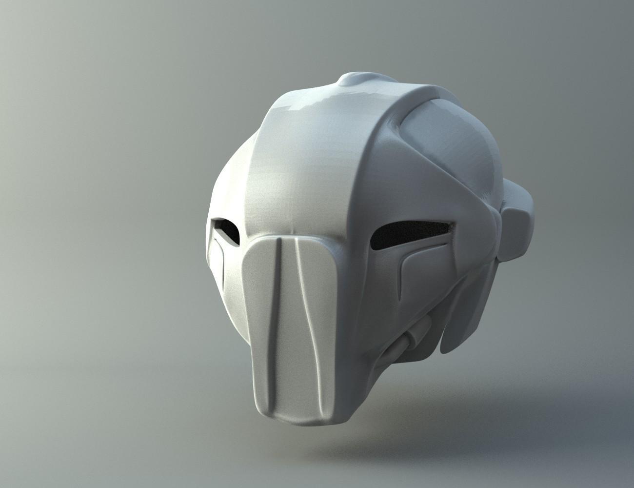 koncept.jpg Download STL file HK47 Assassin Droid - Star Wars - Helmet 3D print model • Template to 3D print, 3D-mon
