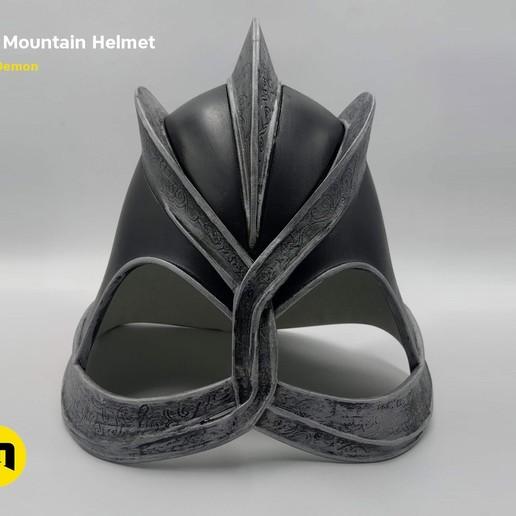 GoT-mountain-helmet-color650.jpg Download STL file The Mountain Helmet – Game of Thrones • 3D printing model, 3D-mon