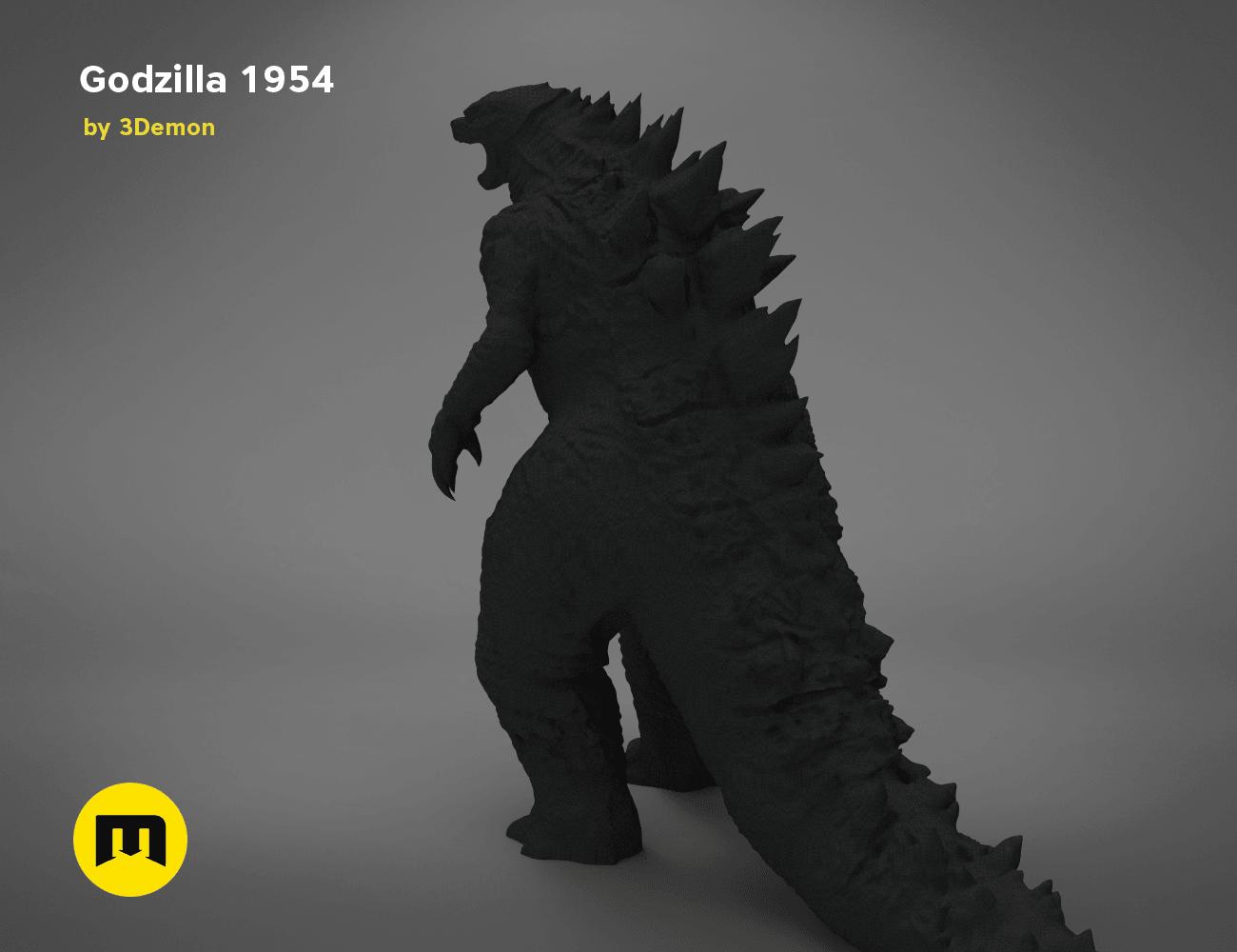 godzilla-black-japanese-bottom.201.png Download free OBJ file Godzilla 1954 figure and bottle opener • 3D printer model, 3D-mon