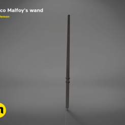 Download STL Draco Malfoy's Wand, 3D-mon