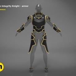 render_scene_Integrity-knight-Kirito-color kopie.jpg Télécharger fichier STL L'armure pleine grandeur de Kirito - Chevalier de l'intégrité • Design pour impression 3D, 3D-mon