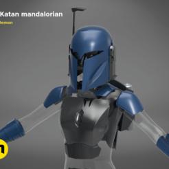 bo_katan-Studio-11.646.png Télécharger fichier OBJ Ensemble d'armures mandaloriennes Bo-Katan • Modèle imprimable en 3D, 3D-mon