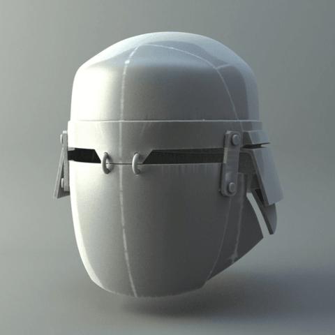 3d printer files heavy knights of ren helmet star wars mask 3d