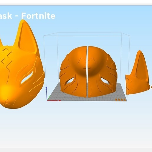Screenshot_1.jpg Download STL file Fortnite Catalyst Mask • 3D print model, 3D-mon
