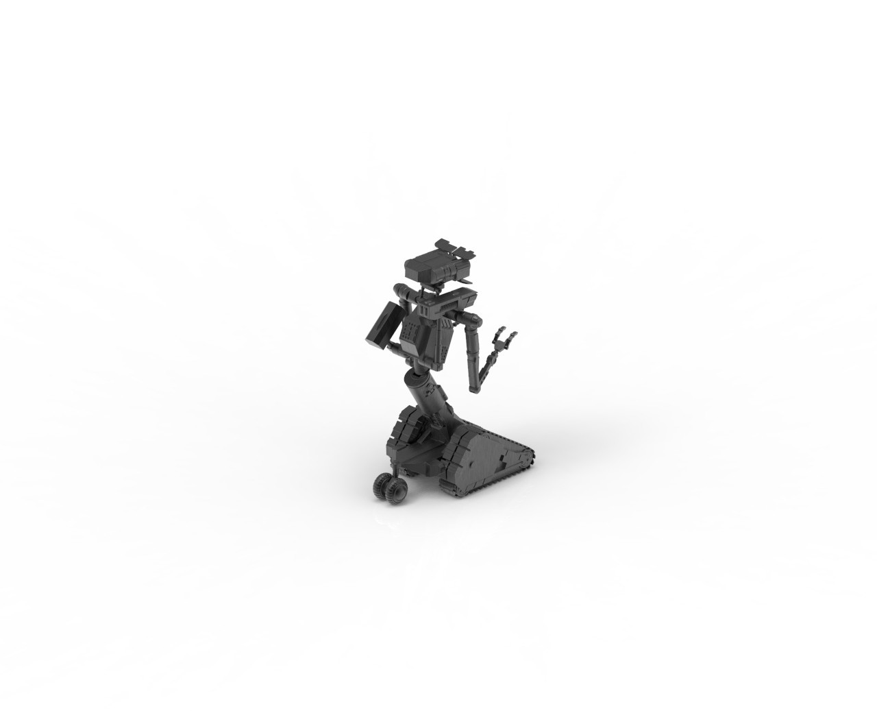 untitled.9.jpg Download STL file Johnny 5 - 3D print model • 3D printable template, 3D-mon