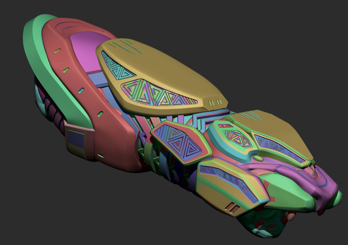 7E696CFF-D1FF-4141-A810-60F3CACDD07C.png Download STL file Shuri Vibranium Blasters • 3D print model, 3D-mon
