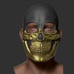 Download STL file The Deathstranding Mask - 3D Print Model, 3D-mon