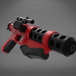 zbrane SITH TROOPER_heavy blaster-main_render_2.386.png Télécharger fichier OBJ Sith Trooper F-11ABA Blaster • Plan pour imprimante 3D, 3D-mon
