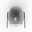 render_scene-top.119.png Download OBJ file Sniper - Knights of Ren Helmet mask, Star Wars 3D print model • 3D printable model, 3D-mon
