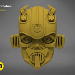 Impresiones 3D Bumblebee - Casco portátil, 3D-mon