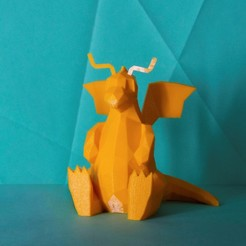 dragonite-cults.jpg Download OBJ file Dragonite • 3D print design, 3D-mon