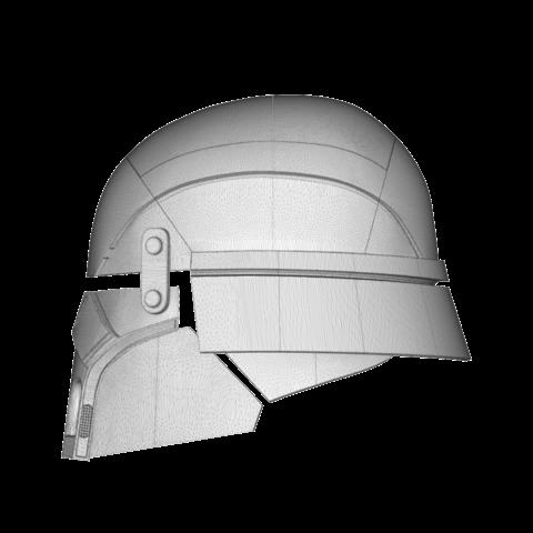 render_scene-right.6.png Download STL file Armory - Knights of Ren Helmet, StarWars model for 3D Print • 3D printing design, 3D-mon