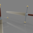 3D printer files Ice Ned Stark Sword, 3D-mon