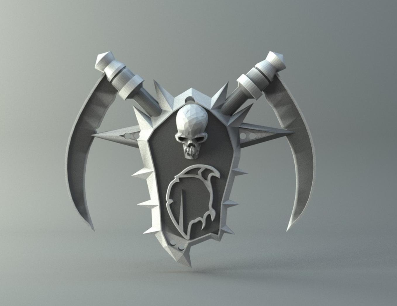 Capture d'écran 2016-11-15 à 07.10.33.png Download free STL file Undead amulet from World of Warcraft • 3D printer object, 3D-mon