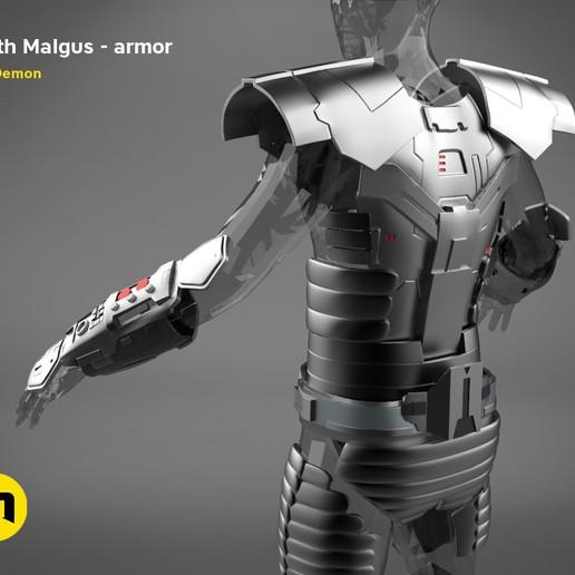 render_scene_darth-malgus-armor-color.14 kopie.jpg Download STL file Darth Malgus's full size armor • Design to 3D print, 3D-mon
