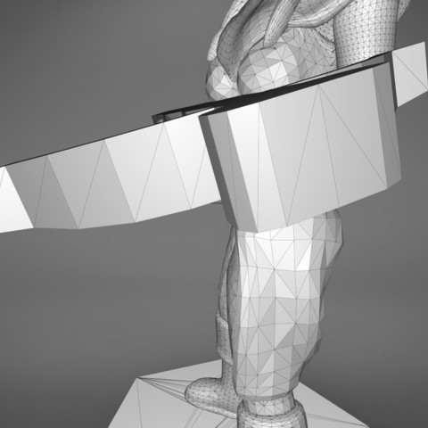 female_ranger-detail_4.540.jpg Download STL file ELF RANGER FEMALE CHARACTER GAME FIGURES 3D print model • 3D printing object, 3D-mon
